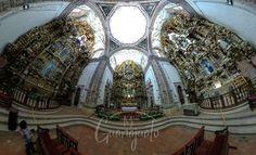 Ayer les contamos de esta #iglesia llamada San Cayetano mejor conocida como Iglesia La Valenciana en #Guanajuato   Una obra arquitectónica que no te dejará indiferente tiene unos retablos increíbles y por ello queríamos compartir esta foto contigo.   #LifeIs360 #turismo #DescubreGuanajuato #ThetaMX  #GTO #Guanajuato_mx #gtogram #guanajuateando #igersgto #ig_guanajuato #Church #ThetaSC #RicohTheta #architecture #mirorrless