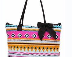 Aztec Print Quilted Tote Bag with FREE Monogram - Edit Listing - Etsy