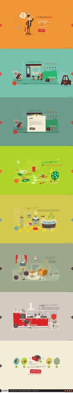 Unique Web Design, Une Cuisine Astucieuse @standard13 #WebDesign #Design (http://www.pinterest.com/aldenchong/)