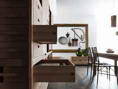 modern italian rusticity from valcucine | modern farmhouse style, Möbel