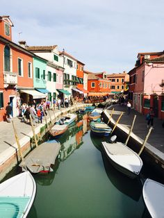 "The island of Burano, also called ""Little Venice"""