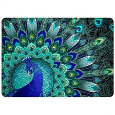 Peacock DIY bead embroidery kit needlework craft set beaded stitching room wall decor housewarming gift idea in 2019 Peacock Painting, Dot Painting, Silk Painting, Peacock Bird, Peacock Colors, Peacock Crafts, Peacock Room, Peacock Tail, Tatoo