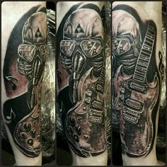 Guitar tattoos