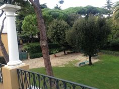 The #terrace overlooking the #park