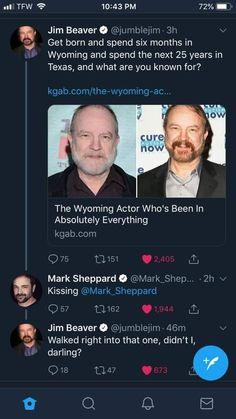 I'm laughing so hard at this! Oh my sides, haha!- I'm laughing so hard at this! Oh my sides, haha! Supernatural Actors, Supernatural Impala, Supernatural Wallpaper, Supernatural Quotes, Sherlock Quotes, Sherlock John, Sherlock Holmes, Jim Beaver, Bobby Singer