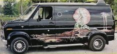 V8-VAN-MURALS - Custom V8 Van Conversion