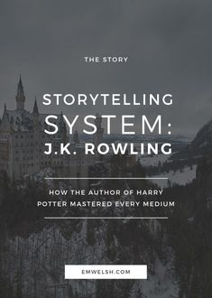 How J. Rowling mastered every storytelling medium (Get Him Back Writing Prompts) Book Writing Tips, Writing Process, Writing Resources, Writing Help, Writing Inspiration Tips, Writing Ideas, Fitness Inspiration, The Words, Writers Write