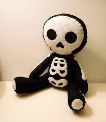 Resultado de imagem para boneco de esqueleto molde