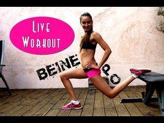 ▶ Workout: Dünne Beine - Schöner Po - Schlanker, knackiger Hintern - Straffe Haut - Fatburner - YouTube