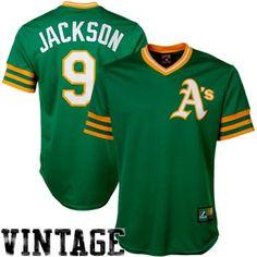 Majestic Reggie Jackson Oakland Athletics Cooperstown Fan Replica Jersey Baseball Uniforms, Baseball Jerseys, Baseball Cards, Oakland Baseball, Reggie Jackson, Athletic Gear, Ny Yankees, Oakland Athletics, Athlete