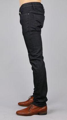 Diesel Shioner Dark Blue Cotton Skinny Jeans Men's Jeans Sz 36 X 34 New! $348 #DIESEL #SlimSkinny