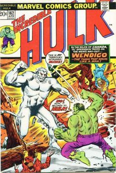 The Incredible Hulk #162 - Spawn of the Flesh-Eater (Wendigo)