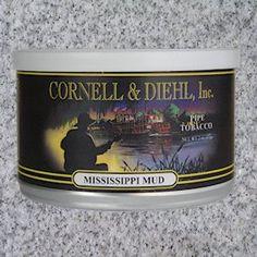 Cornell & Diehl MISSISSIPPI MUD Pipe Tobacco 2oz. Tin