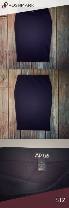 Sexy and Dramatic Stretchy Black Wiggle Skirt This stretchy black wiggle skirt packs a punch and is comfy to boot. The skirt features sexy, curve fitting lines, but with the texture and length, it can also be paired to wear to the office. The high waisted elastic is a stretchy 28 inches, flaring to 34 inches around the hips and closing to 30 inches around the hem. The skirt length is 24.5 inches. My favorite look with this piece is to tuck in a lightweight top, covering the waistband with a…