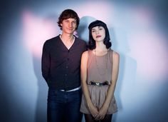 """Gotye and Kimbra in NYC #2. On a scale of one to charming I would call this 'very charming'."" ~OP"