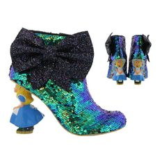 Irregular Choice Alice In Wonderland Who In The World Am I Alice Heels Size UK  #IrregularChoice #Heels #Party