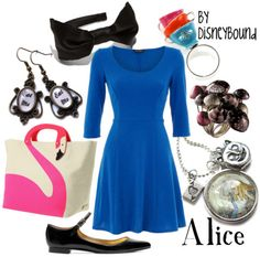 blog of outfits inspired by disney characters!  makes me happy and excited for disney next week!
