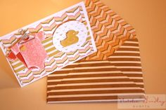 Stampin' Up! Card | Something for Baby Stamp Set | Handmade Baby Card |
