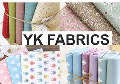 Boutique E-bay de coupons de tissus - YK Fabrics