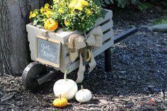 Build A Rustic Wheelbarrow DIY- The Home Depot Workshops | Love of Home