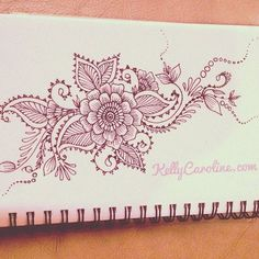 new Henna design drawing from my sketchbookAnother new Henna design drawing from my sketchbook Future Tattoos, Love Tattoos, Beautiful Tattoos, Piercing Tattoo, Piercings, Henna Tatoos, Henna Mehndi, Mehendi, Henna Designs