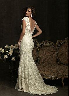 Elegant Exquisite Lace Wedding Dress