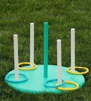 38 Perfect Diy Playground Ideas To Make Your Kids Happy - Modern Backyard Play, Backyard For Kids, Backyard Games, Outdoor Games, Outdoor Play, Kids Yard, Play Yard, Backyard Ideas, Carnival Games For Kids