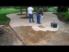 Stamped Concrete Patio Product Used Lithotex