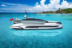 Dynamiq and Klassen Team Up for a Supercar-Inspired Yacht Concept Luxury Yachts, Luxury Cars, Guest Cabin, Lower Deck, User Experience Design, Yacht Design, Motor Yacht, Open Water, Cars