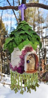 Greenspirit Arts: Festive Faerie Houses