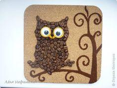Картина панно рисунок Моделирование конструирование Насыпание И опять кофеюшки Кофе фото 3