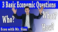Scarcity, the Basic Economic Problem - YouTube Teaching Economics, Financial Literacy, This Or That Questions, Youtube, Youtube Movies