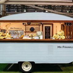 Food Stall Design, Food Truck Design, Food Design, Design Ideas, Food Trucks, Vintage Recipes, Unique Recipes, Coffee Food Truck, Mobile Coffee Shop