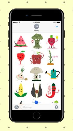 Such a great gardening sticker pack! Lots of veggies and fruits. <3