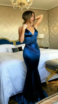 Mermaid Prom Dress,Royal Blue Prom/Evening Dress,Satin Prom Dresses,Long Evening Dresses, V Neck Charming Formal Gowns. Royal Blue Evening Dress, Blue Evening Dresses, V Neck Prom Dresses, Royal Blue Dresses, Sexy Dresses, Long Dresses, Royal Blue Gown, Long Elegant Dresses, Dress Long