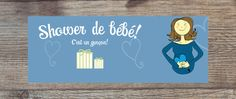 """Bannière Facebook pour un shower de bébé : """"C'est un garçon !"""" par CreationsMemento sur Etsy https://www.etsy.com/ca-fr/listing/479172335/banniere-facebook-pour-un-shower-de-bebe"""
