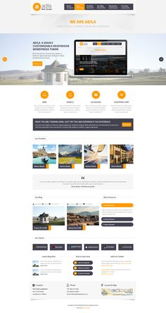Buy Adila: Multipurpose Business PSD Theme by mannatstudio on ThemeForest. Adila is very clean and minimal design template for corporate site. its best suit to both corporate as well as. Intranet Design, Web Ui Design, Best Web Design, Web Design Company, Graphic Design, Affordable Website Design, Website Design Services, Website Designs, Website Ideas