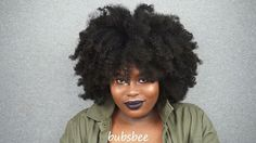 @_bubsbee votes YES to the new Mielle Organics Pomegranate and Honey collection! We love the volume and definition in her Type 4 coils.