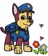 Dog amazing Paw Patrol machine embroidery designs for sale