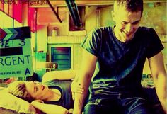 The way she grabs him arm 😍, they are laughing too, SHEO FOR LIFE