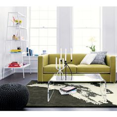 Smart Glass Top Coffee Table Rd Street Condo Pinterest Smart - Cb2 smart glass coffee table