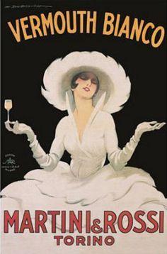 Vermouth, Martini & Rossi Kunstdruck