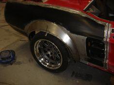 Custom Metal Fabrication Rat Rod Pickup, Pickup Trucks, Wheel Flares, Metal Fabrication Tools, Vintage Mustang, Metal Shaping, Wide Body Kits, Metal Garages, Metal Working Tools
