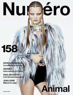 visual optimism; fashion editorials, shows, campaigns & more!: la louve: kate grigorieva by billy kidd for numéro #158 november 2014