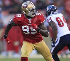 this baller is sacks leader for niners. whose got it better than them? nobody.