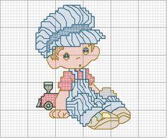 Schema punto croce Bambino-5