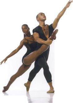 Ashley Murphy, Dance Theatre of Harlem - black ballet dancers...check out the brown pointe shoes