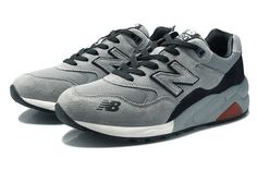 Men And Women New Balance 580 NB580 Shoes Nubuck NB580 Gray Black|only US$65.00 - follow me to pick up couopons.