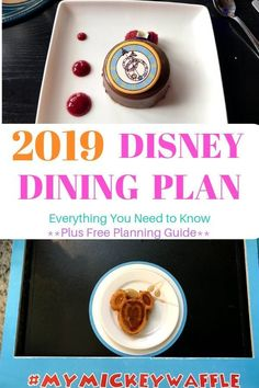 Is the 2019 Disney Dining Plan right for you? Learn about all of the options available for your #disneyworld vacation! #disneydining #vacationtips