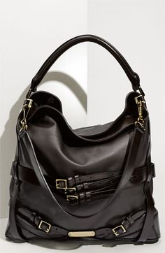 ...and if you are feeling especially generous (I *have* been a good girl, you know!) Burberry Belted Hobo...